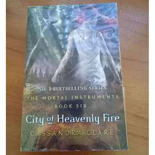 City of Heavenly Fire, The Mortal Instruments #CNY888