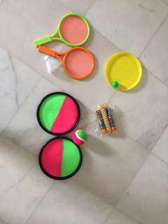 Kids 4in1 Outdoor Toys