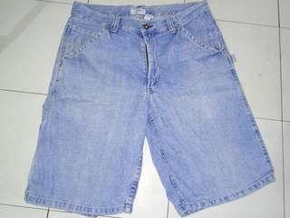 Denim men shorts