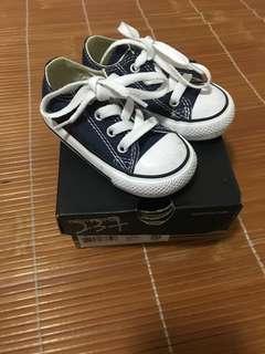 🈹💥🈹💥converse 經典型格 navy colour bb鞋子 baby shoes 兒童 波鞋 布鞋
