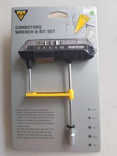 Topeak Combotorq Wench and Bit Set
