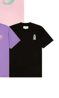 :Chocoolate 限量 美少女戰士系列 黑色 細logo tshirt XXS碼