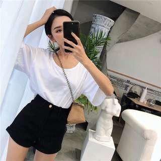 [PO]Basic Highwaist Wide Short