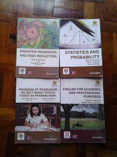 Used Senior High School Books (SOLD AS A SET)