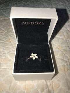 Brand new Pandora Flower Ring (size 56)