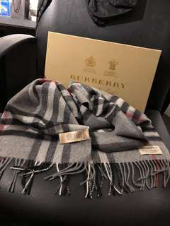 Authentic Burberry Check Scarf