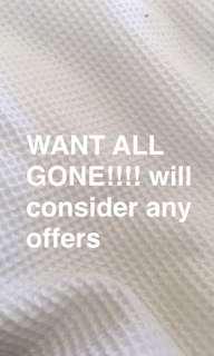 want all my stuff gone asap