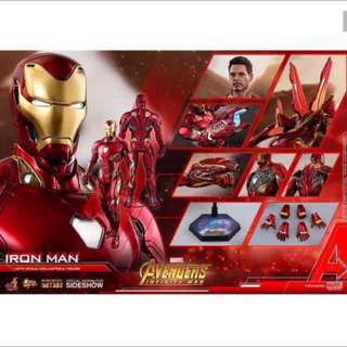 Few Slots PO Hot toys  Listing for Iron Man mark 50