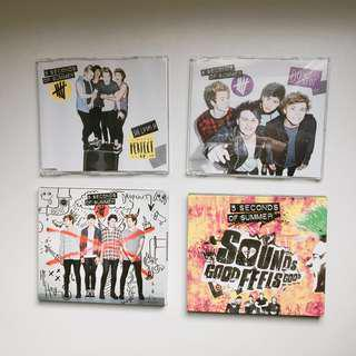 5SOS albums and EPs