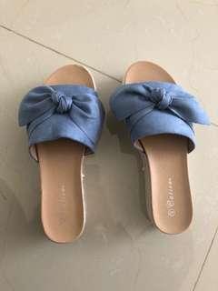 Blue vanilla - blue platform shoes