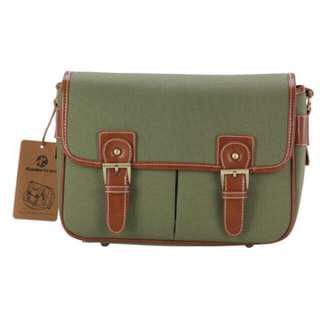 Koolertron Vintage Fashionable Canvas DSLR Camera Bag (Green) - OriginaL #midyearsale