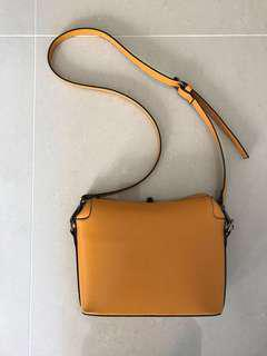 Mustard Sling Crossbody Bag