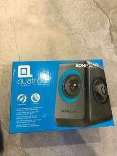 SoniGear Quatro 2 USB Mini Speaker