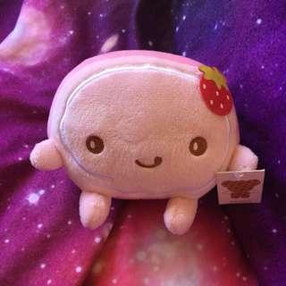 Strawberry Pink Swiss Roll Plushie