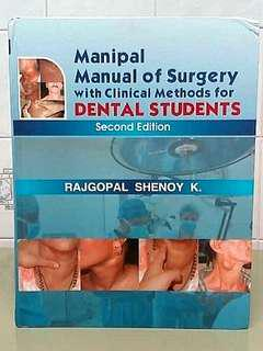 Manipal Manual of Surgery with Clinical Methods for Dental Students Second Edition