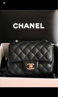 4f1f060b1e87e1 chanel mini square caviar | Handbags | Carousell Singapore