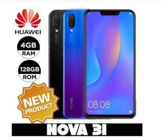 New huawei Nova 3i ( SEAL Set )