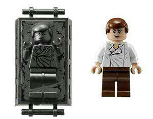 Lego Han Solo in carbonite minifigures from Star Wars