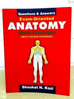 Exam-Oriented Anatomy Above Diaphragm with colour diagrams Questions & Answers
