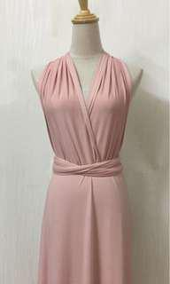 [NEW] Dusty Pink Infinity Dress
