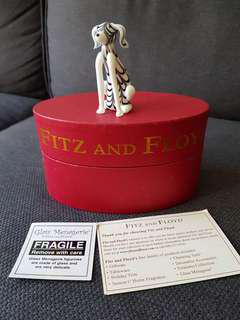 Fitz and Floyd Glass Menagerie Dog