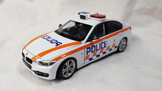 1:24 diecast BMW 335i in new SPF TP livery