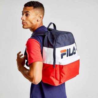 [PO] fila multi colour / tri colour bagpack