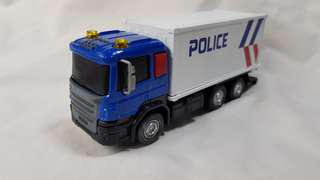 1:50 diecast and plastic Scania truck in New SPF Livery