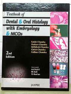 Dental & Oral Histology with Embryology & MCQs Textbook 2nd Edition