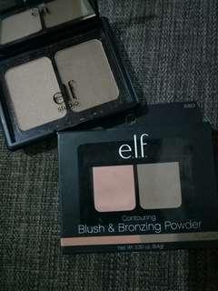 Elf studio Blush and Bronzing Powder