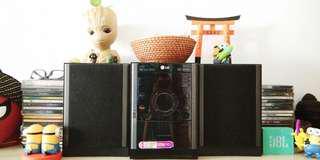 LG DVD Micro Hi-Fi System XD63