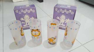 Garfield collectibles cups