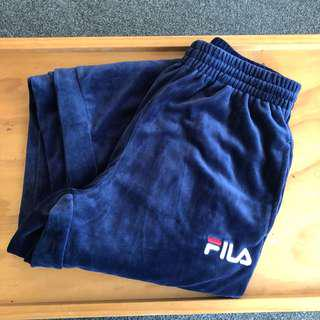 Brand new FILA velour trackpants!!!