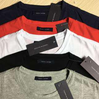 Tommy Hilfiger Tee - 5 Colours