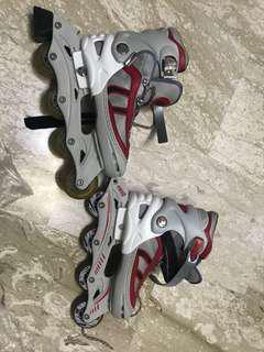 🚚 Inline skates adjustable size 38-41 adult