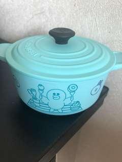 7-11 Sally 圓形鍋貯物盒