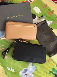 2 pcs dompet charles & keith