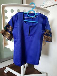 Pre-loved Blue Baby Baju Kurung