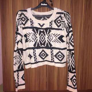 Sweater cropty