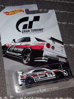 Hot Wheels Skyline R35 - GrandTourismo Edition