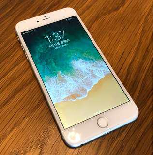 Apple iPhone 6 Plus 64Gb Silver with white 銀色 白色面 大機