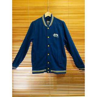 Stussy Fleece Varsity Jacket 棒球外套