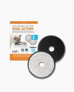 Dual Action Fountain Filter – 2pcs