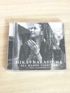 中島美嘉港版CD All Hands Together