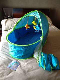 Travel baby cot tempat tidur bayi