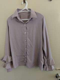 Light purple blouse