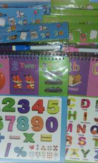 Alphabet Or Numbers 3 in 1 Fun Puzzles