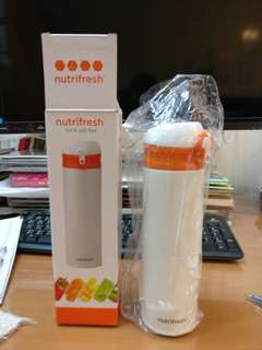 Nutrifresh cold and hot flask 500 ml 冷熱保溫瓶