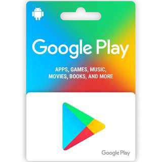 Google Play Store 5000 Yen 日元 日本 日版 谷歌