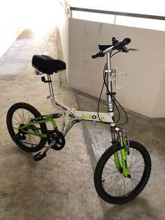 Foldable Bicycle - Aleoca bike good condition